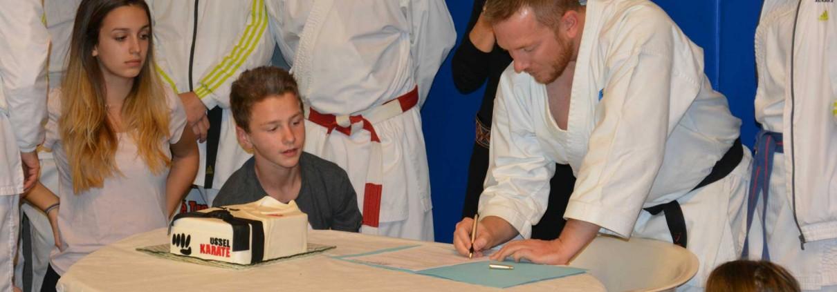 Jonathan Plagnol prend sa licence à Ussel