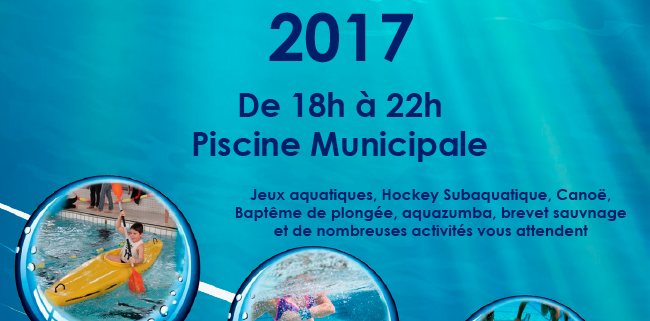 Nuit de l eau for Piscine ussel
