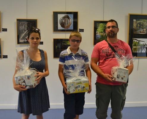 3 lauréats primsé au concours