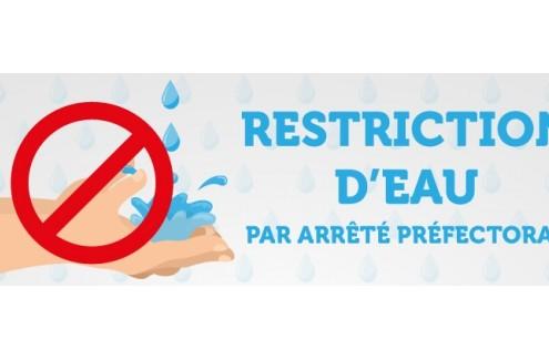 restriction-deau